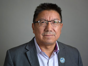 Photo of Grand Chief Alvin Fiddler