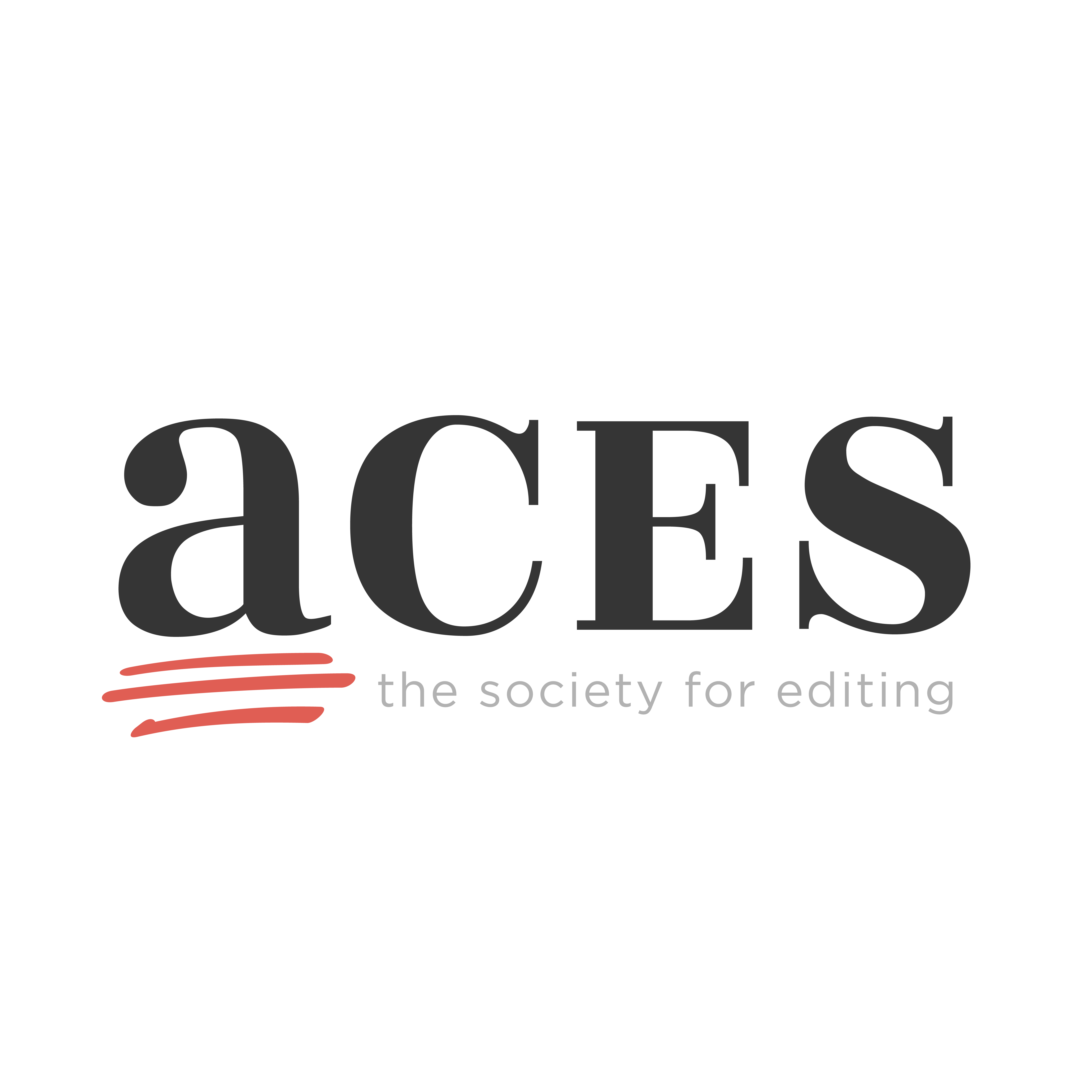 The logo of ACES - The Society of Editors