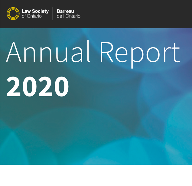 2020 Law Society Annual Report